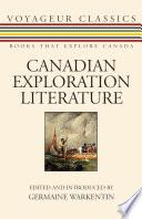 Canadian Exploration Literature
