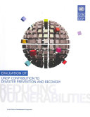 Evaluation of UNDP Contribution to Disaster Prevention and Recovery Book
