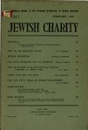 Jewish Charity