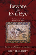 Pdf Beware the Evil Eye Volume 1 Telecharger