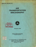 Air Transportation Bibliography
