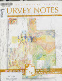 Survey Notes Book