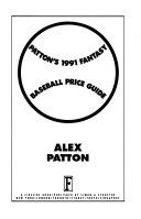 Patton s Fantasy Baseball Price Guide  1991
