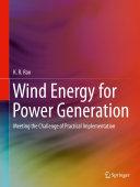 Wind Energy for Power Generation Pdf/ePub eBook