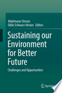 Sustaining our Environment for Better Future Book
