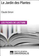 Le Jardin des Plantes de Claude Simon
