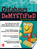 Databases DeMYSTiFieD  2nd Edition