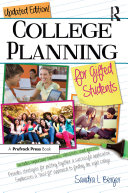 College Planning for Gifted Students Pdf/ePub eBook