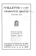 Villette By Charlotte Bront