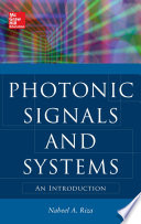Photonic Signals and Systems  An Introduction