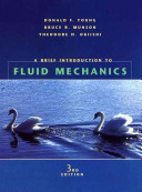 A Brief Introduction To Fluid Mechanics Book PDF