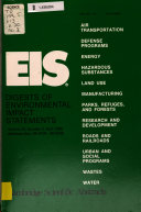 EIS  Digests of Environmental Impact Statements