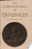 The Correspondence of Erasmus: Letters 1356 to 1534, 1523 to 1524