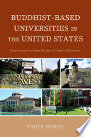 Buddhist Based Universities in the United States Book