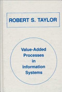 Value-added Processes in Information Systems