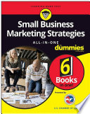 Small Business Marketing Strategies All In One For Dummies