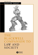The Blackwell Companion to Law and Society