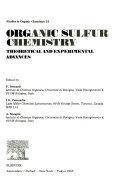 Organic Sulfur Chemistry
