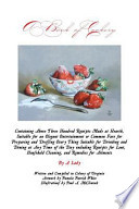 A Book of Cookery