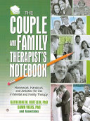 The Couple and Family Therapist s Notebook