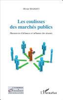 Pdf Les coulisses des marchés publics Telecharger