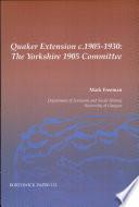 Quaker Extension, C. 1905-1930