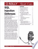 Sql Injection Defenses Book PDF