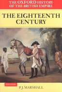 The Oxford History of the British Empire: The eighteenth century