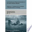 Late Quaternary Palaeoceanography Of The North Atlantic Margins Book