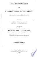 The Mound-builders and Platycnemism in Michigan