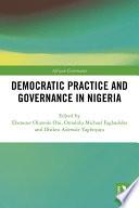 Democratic Practice And Governance In Nigeria