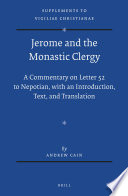 Jerome and the Monastic Clergy