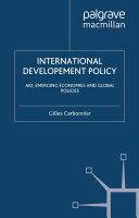 Pdf International Development Policy Telecharger