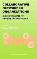Collaborative Networked Organizations