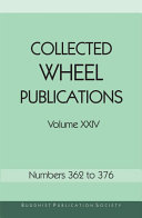 Collected Wheel Publications Volume XXIV