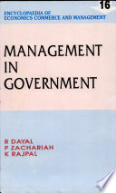Management in government