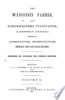 The Wisconsin Farmer  and Northwestern Cultivator Book