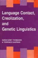Pdf Language Contact, Creolization, and Genetic Linguistics Telecharger
