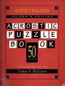 Harper s Magazine Acrostic Puzzle Book