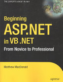 Beginning ASP NET in VB  NET