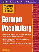 Practice Makes Perfect  German Vocabulary