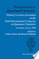 Perspectives in Quantum Chemistry Book