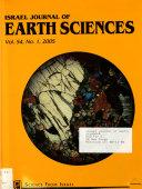 Israel Journal of Earth Sciences
