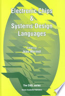 Electronic Chips Systems Design Languages Book PDF