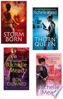 Richelle Mead Dark Swan Bundle: Storm Born, Thorn Queen, Iron Crowned & Shadow Heir image