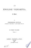 An English vendetta
