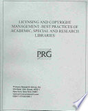 Licensing and Copyright Management