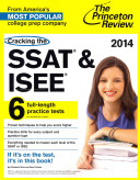Cracking the SSAT and ISEE  2014 Edition Book