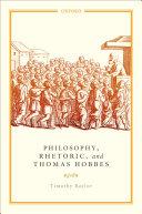 Philosophy  Rhetoric  and Thomas Hobbes