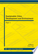 Sustainable Cities Development And Environment Book PDF